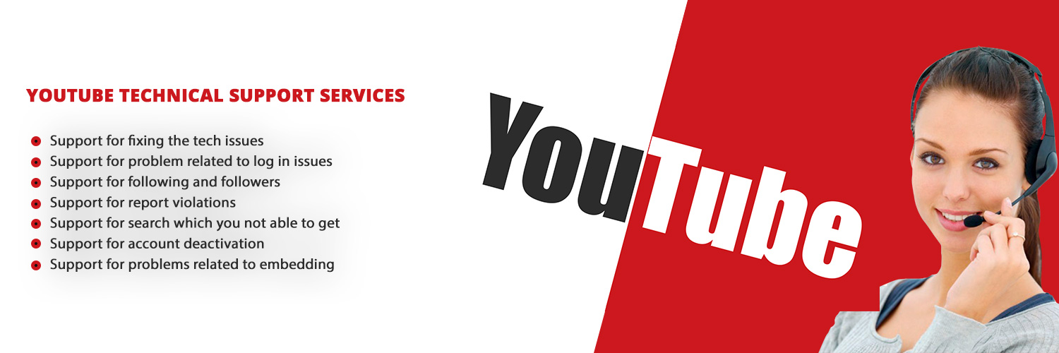 YouTube Technical Support