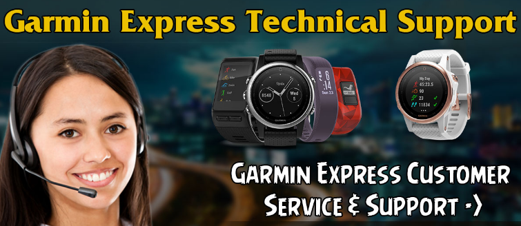 garmin express support
