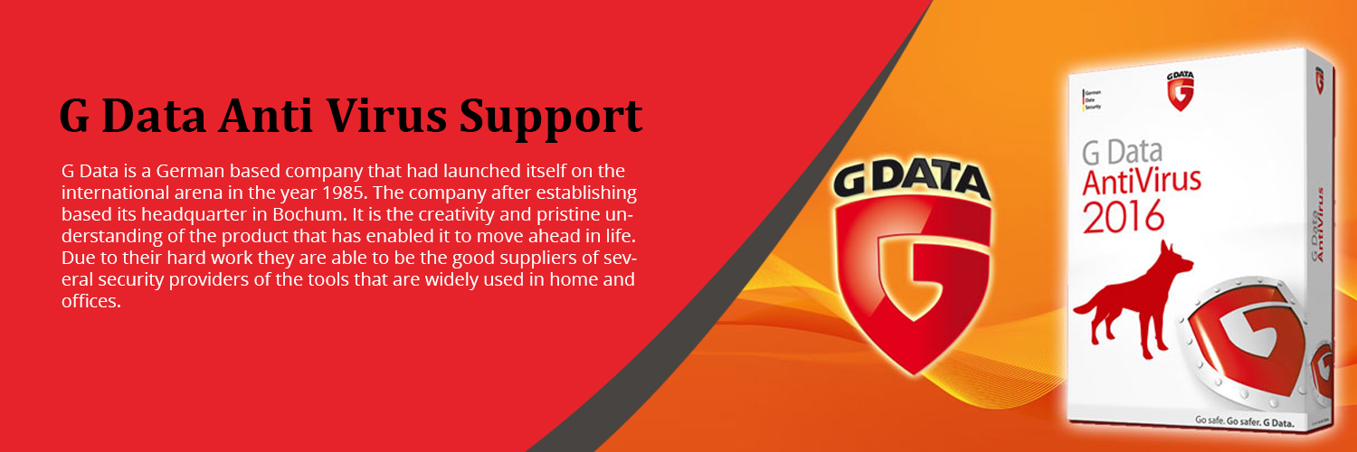 G Data Antivirus Support