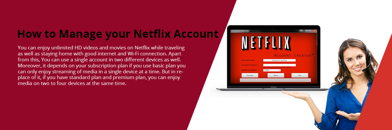 MANAGE NETFLIX ACCOUNT