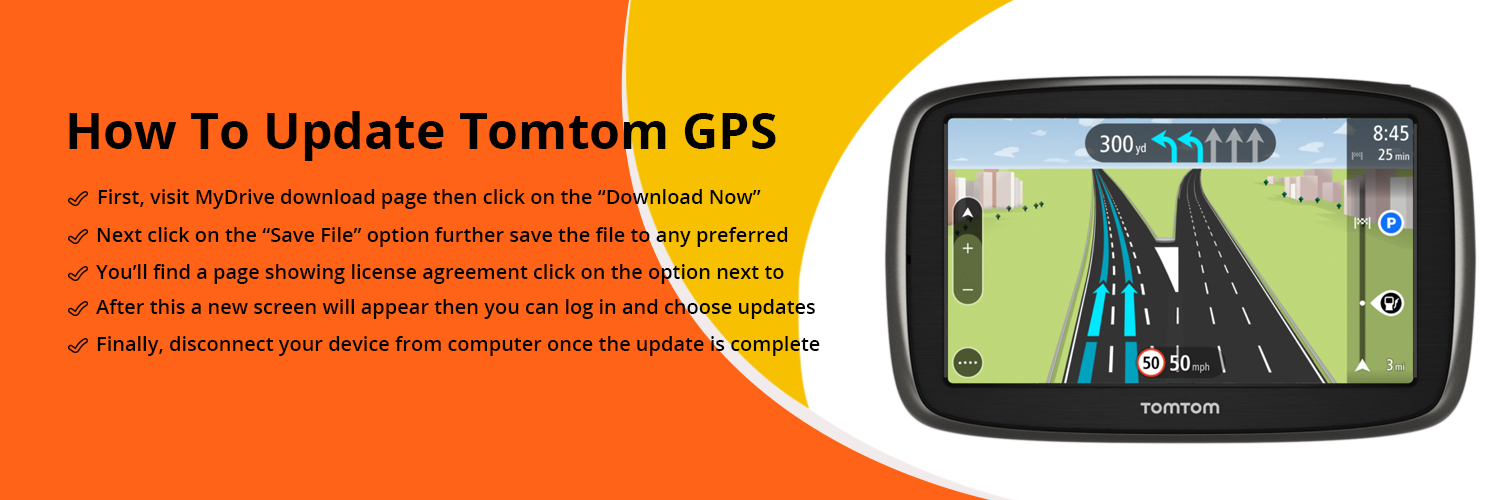 TomTom Maps Update