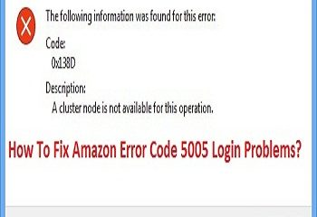 Fix Amazon Error Code 5005 Login Problems