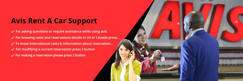 Avis Rent A Car Support