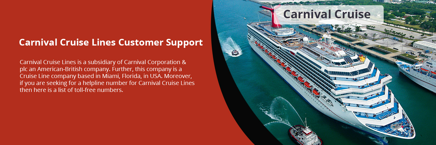 Carnival Cruise Lines Customer Support