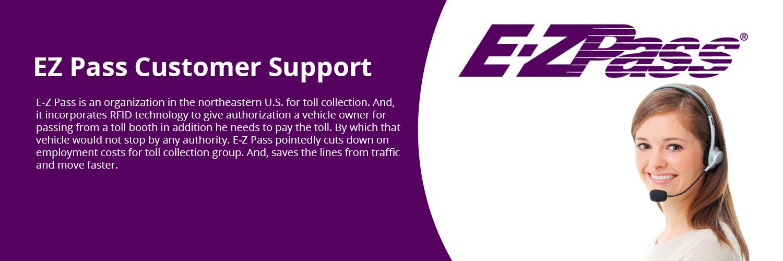 EZ pass Customer Support