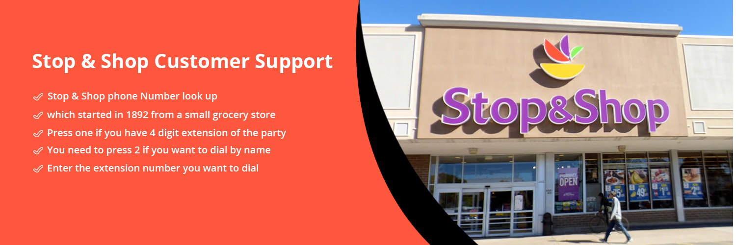 Stop & Shop Grocery Store Customer Support