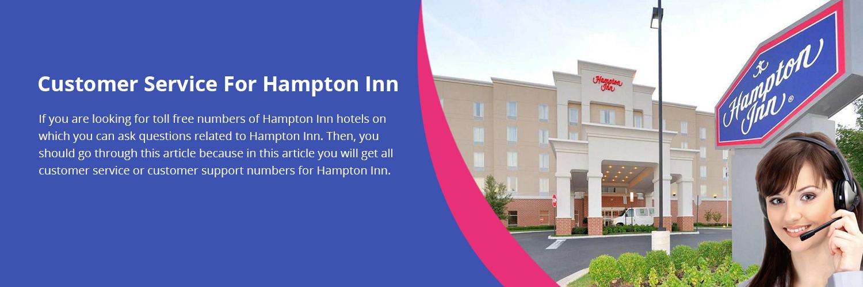 Hampton Inn Customer Support