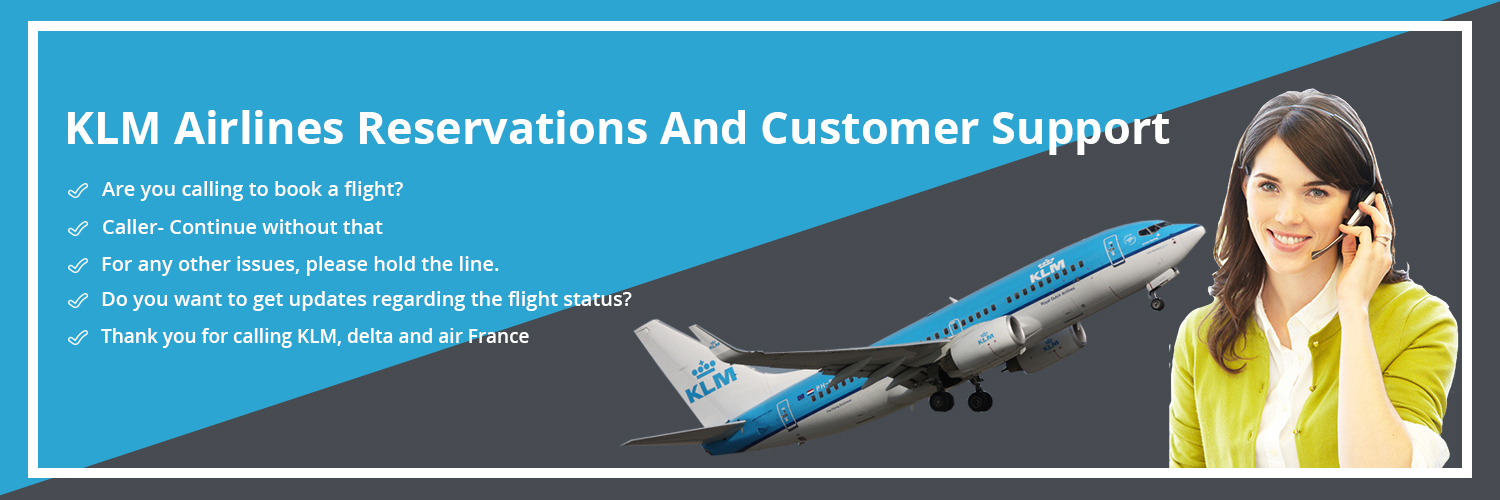 KLM Airlines customer support