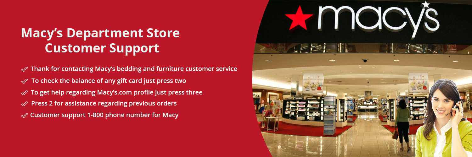 Macy's Customer Support Phone Number