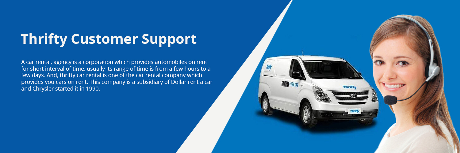 Thrifty Car Rental Support