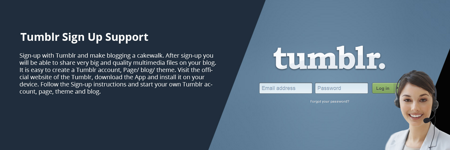Tumblr Sign up
