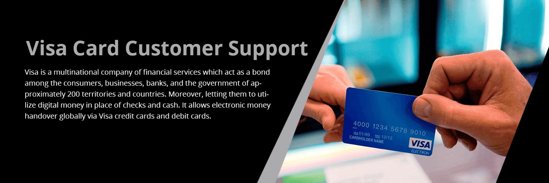 Visa Card Customer Support