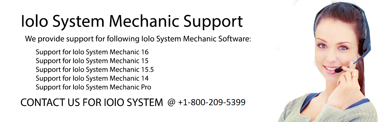 iolo System Mechanic Support Number